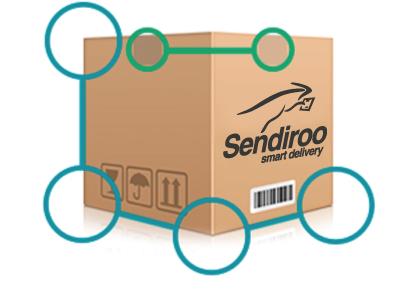 angles emballage Sendiroo